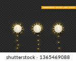 christmas lights  isolated... | Shutterstock .eps vector #1365469088