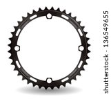 Illustration Of Chainwheel  Eps ...