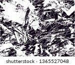 distressed background in black... | Shutterstock . vector #1365527048