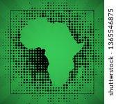 sketch blot dotty african... | Shutterstock . vector #1365546875