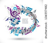 Blue And Violet Music...