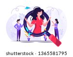 we are hiring it talent ... | Shutterstock .eps vector #1365581795