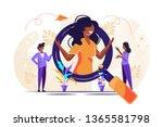 we are hiring it talent ...   Shutterstock .eps vector #1365581798