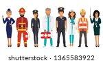 international labor day. people ... | Shutterstock .eps vector #1365583922