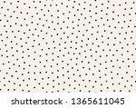 vector seamless pattern.... | Shutterstock .eps vector #1365611045