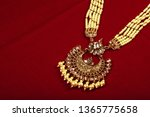 authentic traditional indian... | Shutterstock . vector #1365775658