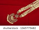 authentic traditional indian... | Shutterstock . vector #1365775682