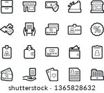 bold stroke vector icon set  ... | Shutterstock .eps vector #1365828632