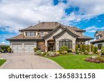 beautiful exterior of newly... | Shutterstock . vector #1365831158