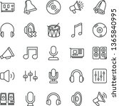 thin line vector icon set  ... | Shutterstock .eps vector #1365840995