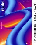 trendy abstract design template ... | Shutterstock .eps vector #1365974105