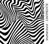 abstract zebra skin. modern... | Shutterstock .eps vector #1365982478