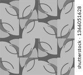halftone monochrome texture... | Shutterstock . vector #1366051628