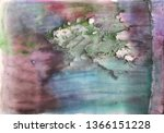 bright multi colored painting ... | Shutterstock . vector #1366151228