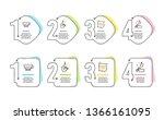 jazz  quick tips and americano... | Shutterstock .eps vector #1366161095