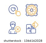 remove account  computer fan... | Shutterstock .eps vector #1366162028