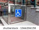 Modern Wheelchair Lift Near The ...