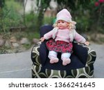 Beautiful Baby Doll Sitting On...