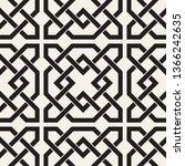 vector seamless pattern.... | Shutterstock .eps vector #1366242635