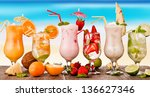 Summer Drinks With Blur Beach...