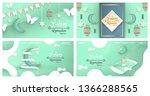 bundle template for ramadan...   Shutterstock .eps vector #1366288565