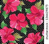 Seamless Floral Pattern  Hand...