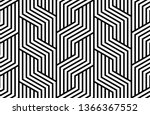 abstract geometric pattern with ... | Shutterstock .eps vector #1366367552