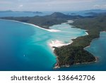 Whitehaven Beach And Hill Inle...