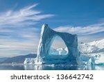 Arch Iceberg In Greenland