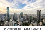 Bangkok City   Aerial View ...