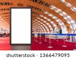digital media blank white... | Shutterstock . vector #1366479095