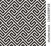 vector seamless pattern. modern ... | Shutterstock .eps vector #1366508918