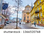 bad ischl  austria   february... | Shutterstock . vector #1366520768