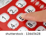 Finger Press Number