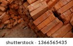 pile of brick block used for...   Shutterstock . vector #1366565435