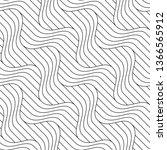 vector seamless texture. modern ... | Shutterstock .eps vector #1366565912