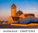 orthodox church in the port of... | Shutterstock . vector #1366572362