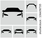 Stock vector car silhouette 136658735