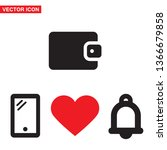 vector icon purse 10 eps
