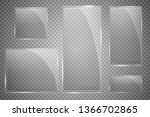 glass plates are installed....   Shutterstock .eps vector #1366702865