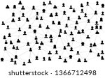 connecting people silhouette.... | Shutterstock .eps vector #1366712498