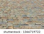 an old stoneblock pavement...   Shutterstock . vector #1366719722