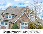 the top of the house or... | Shutterstock . vector #1366728842