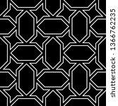 seamless pattern. stars ... | Shutterstock .eps vector #1366762235