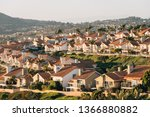 view of houses and hills from...   Shutterstock . vector #1366880882