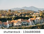 view of houses and hills from...   Shutterstock . vector #1366880888