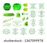 collection of han drawn design... | Shutterstock . vector #1367099978