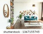 spacious studio apartment... | Shutterstock . vector #1367155745