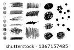 dirty pencile texture... | Shutterstock .eps vector #1367157485