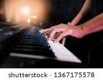 pianist musician performing... | Shutterstock . vector #1367175578
